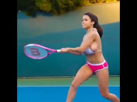 Video Bouncing BooBs..Sexy I mean Tennis Time! download in MP3, 3GP, MP4, WEBM, AVI, FLV January 2017