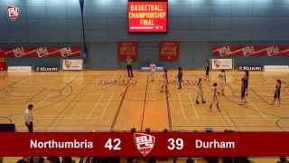 BUCS Big Wednesday: Women's Basketball Final