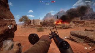 A little BF1 footage from the Rush game mode.