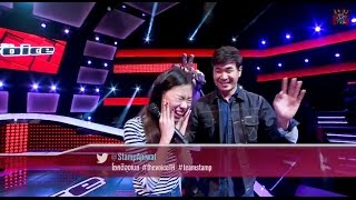 The Voice Thailand - เอ้ - เพียงรัก - 12 Oct 2014