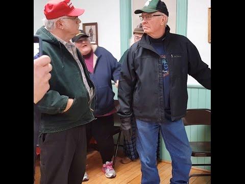 Ellington Twp. (Michigan) post-board meeting fight (12.15.16)
