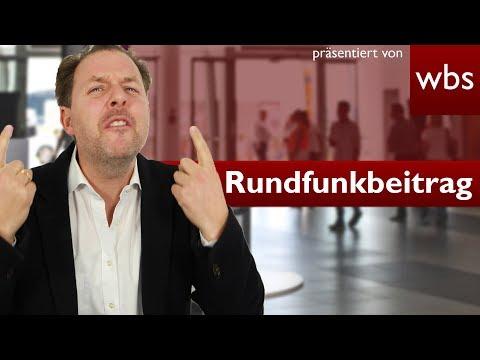 Rundfunkbeitrag - Zahlen nur bei Empfang?   Rechtsanwalt Christian Solmecke