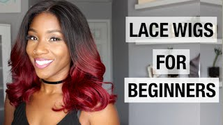 Video HOW TO WEAR A WIG FOR BEGINNERS WITH MYFIRSTWIG.COM | FALL HAIRSTYLES 2016 MP3, 3GP, MP4, WEBM, AVI, FLV Januari 2019