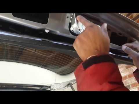 Mercedes ML-Series Trunk Actuator (Lock) Replacement DIY