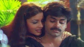 Renu desai seducing Pawan kalyan  Badri