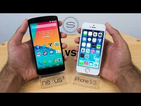 nexus - Google Nexus 5 vs Apple iPhone 5s. A hands-on full comparison of the LG Nexus 5 vs iPhone 5s looking at Size, Weight, Screen size, Build, Resolution, Process...