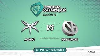 Mineski vs Vici Gaming, Super Major, game 2 [CrystalMay, LighTofHeaveN]