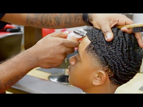 360 Waves Haircut Tutorial Wolfing How To Get Waves Mr