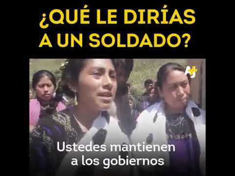 Frases sabias - PALABRAS SABIAS DE CAMPESINA A MILITARES COLOMBIANOS