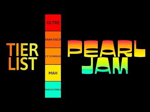 Pearl Jam: dal Migliore al Peggiore | TIER LIST