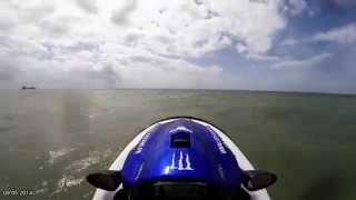 6. Jet Ski Kawasaki STX-15F - 09.05.2014 - Big jumps
