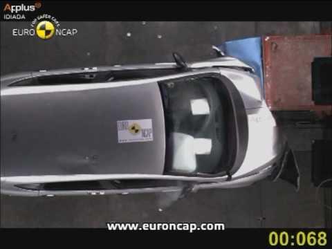 Seat Altea euroncap çarpışma / güvenlik testi videosu