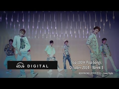 Songs - Here's my top 100 K-Pop Songs chart for October 2014 Week 3 (week ending October 18, 2014). Based on my personal preferences with some influence from the weekly music shows and sales charts.