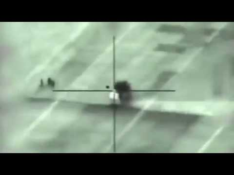 Армия Израиля опубликовала видео удара по ЗРПК «Панцирь-С1» в Сирии - DomaVideo.Ru