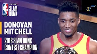 Video Donovan Mitchell Wins 2018 Verizon Slam Dunk Contest MP3, 3GP, MP4, WEBM, AVI, FLV Agustus 2018