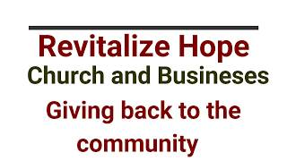 Church and Business: Community Involvement