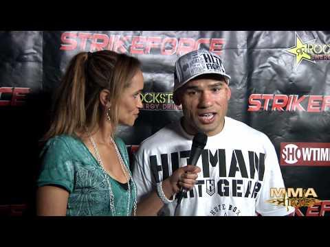 Evangelista Cyborg Santos talks win over Marius Zaromskis at Strikeforce LA
