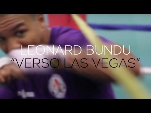 leonard bundu - verso las vegas, ritratto del pugile italiano di franco ligas