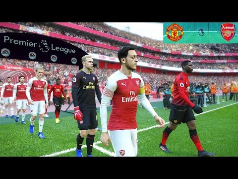 Manchester United Vs Arsenal - EPL 5 December 2018 Gameplay
