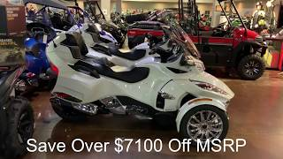 10. 2018 Can-AM Spyder RT Limited SE6 On Sale For Over $7100 Off MSRP At $23,999