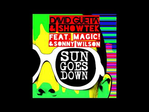 David Guetta & Showtek - Sun Goes Down ft. MAGIC! & Sonny Wilson [OUT NOW]