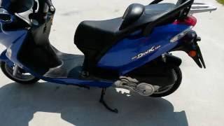 7. Kymco Grand Dink 125 2005 (engine sound)