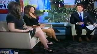 Kimberly Guilfoyle Legs. With Abby Huntsman, Jessica Tarlov Legs