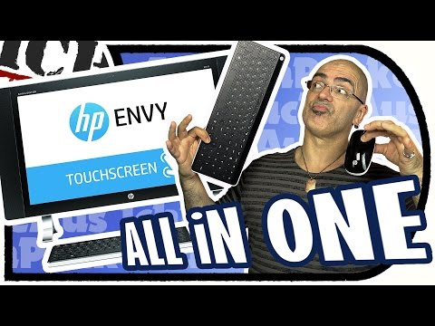 HP ENVY (24-n251ng) 23,8 Zoll ALL iN ONE Desktop PC - QUAD HD Touchscreen (Unboxing+Ersteindruck)
