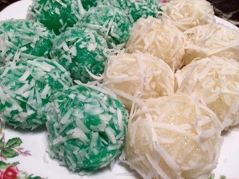 Qhia Ua qhaub noom qhos ntoo, How to make steamed Cassava Cake Dessert 2/16/2018 (видео)