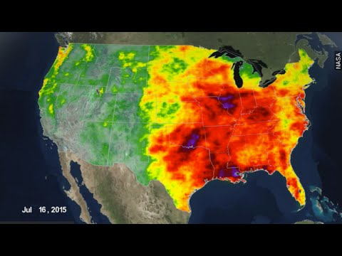 NASA Visualizes Just How Much Rain We've Endured — Or Missed - Newsy