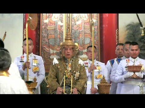 Feierliche Zeremonie: Rama der 10. ist neuer König in Thailand