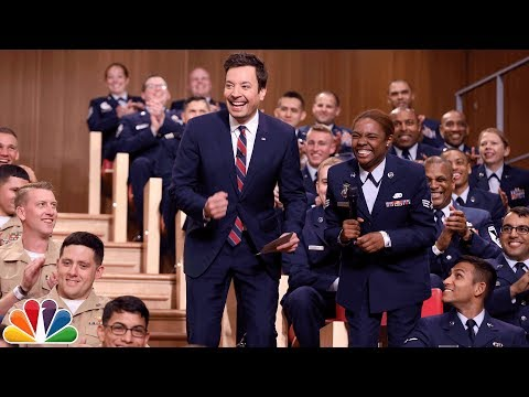 Freestylin' with The Roots: Fleet Week Military Audience
