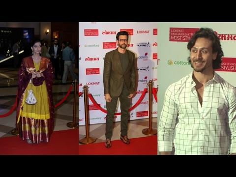 Hrithik Roshan, Sonam Kapoor, Tiger Shroff & Other Stars Attend Maharashtra Lokmat Awards