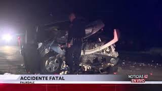 Accidente fatal en Palmdale – Noticias 62 - Thumbnail