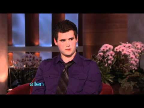 The Ellen Show - Zach Wahls Talks About His Inspiring Speech