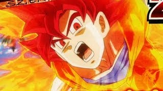 Dragonball Z Battle Of Gods: Super Saiyan God Revealed!