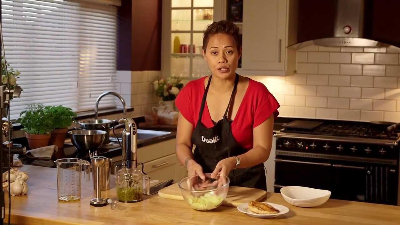Chicken with Pesto & Fresh Tagliatelle by Monica Galetti  preview