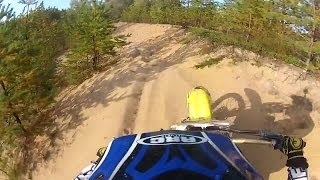 7. Suzuki RM 85 2 Stroke Dirt Bike - Playing Around