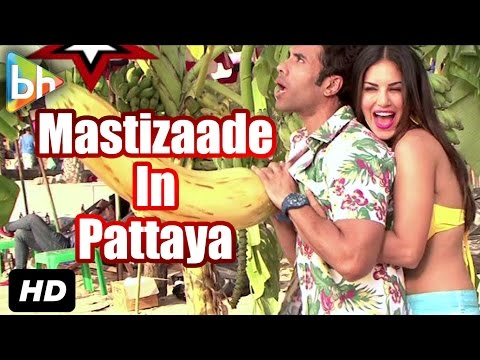 EXCLUSIVE On Location Of Mastizaade In Pattaya, Thailand | Sunny Leone