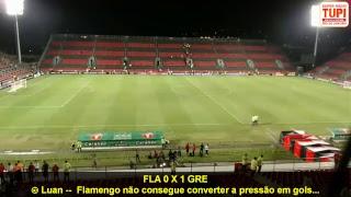 Valendo a vice-liderança do Brasileirão! Mengão pega o Grêmio na Ilha do Urubu e a TUPI vai transmitir ao vivo pra vocês!