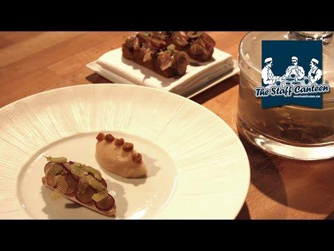 2-Michelin star chef Daniel Clifford creates a roast quail and shallot puree recipe