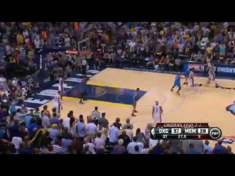 Memphis - Memphis Grizzlies Wins 97-103 In Overtime And Leads The Series 3-1 Against The Oklahoma City Thunder.