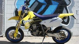 3. 2005 Suzuki DRZ400SM Supermoto Motorcycle For Sale