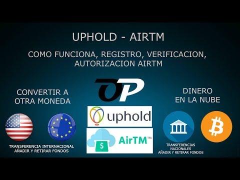 UPHOLD AIRTM COMO FUNCIONA, REGISTRO, VERIFICACION, AUTORIZAR AIRTM