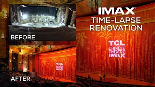 TCL Chinese Theatre IMAX Renovation - Time Lapse Video