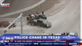 FNN: Arizona Weather Update + REPLAY of Police Chase near Houston