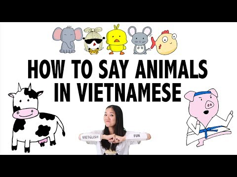 How To Say Animals In Vietnamese