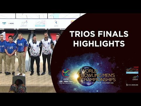 Highlights of Team of 5 Finals - World Bowling Men's Championships 2018