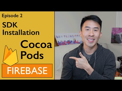 Swift: Firebase 3 – Installing SDK using Cocoapods and Saving Users into Database (Ep 2)