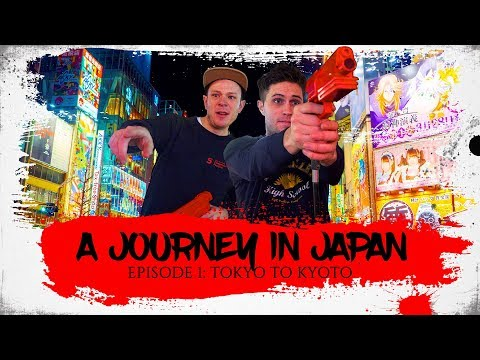 A Journey In Japan | Ep1: Tokyo to Kyoto